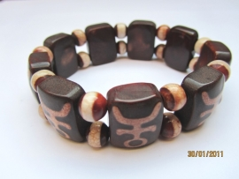 A22.1 Armband met Agate symbools