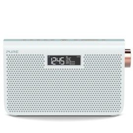 Pure One Maxi Series 3s stereo portable radio met DAB+ en FM, Jade White