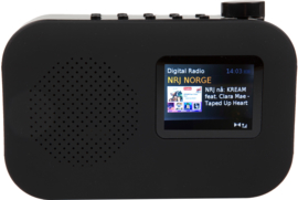 POP RADIO POPurban DAB+/FM radio met Bluetooth, kleurenscherm, alarm en presets, zwart