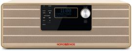 Nordmende Transita 320 DAB+ en FM stereo radio met CD-speler en Bluetooth, beige