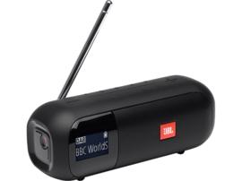 JBL Tuner 2 oplaadbare Bluetooth luidspreker met DAB+ en FM radio, zwart