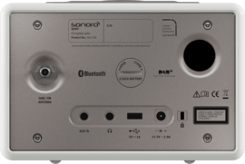 Sonoro Qubo muzieksysteem met DAB+, FM, CD en Bluetooth, wit