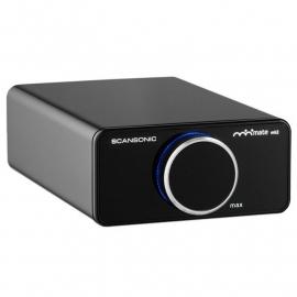 Scansonic A200 stereo versterker 2x 100 Watt RMS, zwart