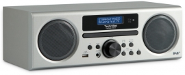 TechniSat DigitRadio 350 CD radio met DAB+, FM, CD en USB, zilver