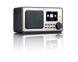 Lenco DIR-100 internet radio met USB MP3 speler, zwart
