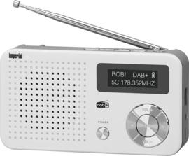 Imperial DABMAN 13 compacte DAB+ radio met FM en audio afspelen via USB en micro SD, wit