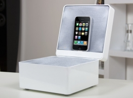 Tangent Pearlbox luxe iPod / iPhone docking station wit