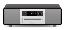 sonoro STEREO 2 SO-320 2.1 stereo muzieksysteem met DAB+ en FM, CD speler, USB en Bluetooth, hoogglans zwart