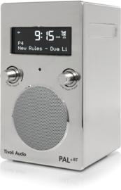 Tivoli Audio Model PAL+BT 2021 oplaadbare radio met DAB+, FM en Bluetooth, chrome, OPEN DOOS