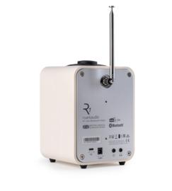 Ruark Audio R1 Mk4 deluxe tafelradio met DAB+, FM en Bluetooth, Light Cream