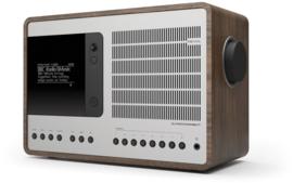 Revo SuperConnect radio met DAB+, internet, streaming, Bluetooth en Spotify, walnut silver