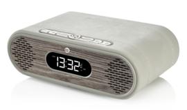 View Quest Rosie-Lee DAB+ wekkerradio met FM en Bluetooth, Light Grey Limed Oak