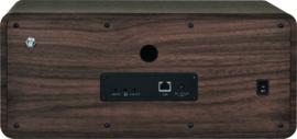 Imperial DABMAN i205 CD stereo hybride internetradio met DAB+ en FM en Bluetooth 5.0, walnoot