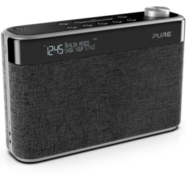 Pure Avalon N5 DAB+ en FM radio met Bluetooth, charcoal