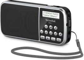TechniSat Viola 3 - RDR DAB+ en FM radio, audio afspelen via USB en analoge ingang, zwart