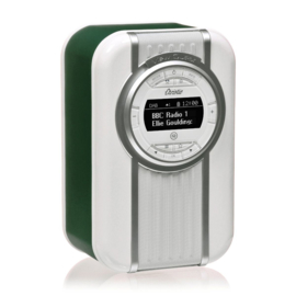 View Quest Christie draagbare DAB+ radio met FM en Bluetooth, Emerald Green