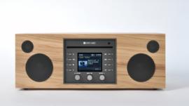 Como Audio Musica hifi stereo alles-in-1 radio met wifi internet, DAB+, CD, Spotify en Multi room, Hickory