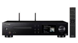 Pioneer NC-50DAB stereo receiver / netwerkspeler met DAB+ en CD, zwart, EX-DEMO