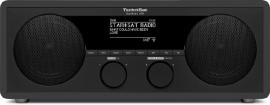 TechniSat DigitRadio 450 stereo houten internetradio met DAB+ en FM, antraciet