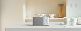Sony  XDR-S41D Portable Digitale radio DAB+ FM, wit