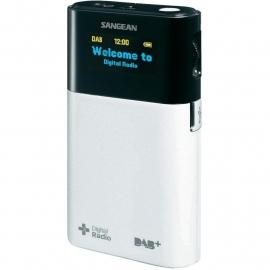 Sangean DPR-32 DAB+ / FM oplaadbare zakradio, wit