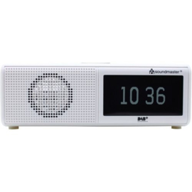 Soundmaster UR8350WE digitale DAB+ en FM wekker radio met USB
