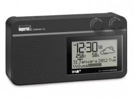 Imperial DABMAN 70 portable DAB+ en FM radio met weerstation