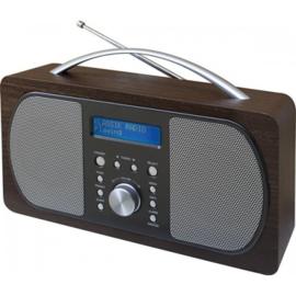 Soundmaster DAB600DBR Stereo DAB+ en FM radio met alarm
