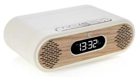 View Quest Rosie-Lee DAB+ wekkerradio met FM en Bluetooth, Cream & Oak