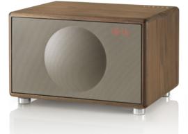 Geneva Classic /M stereo hi-fi speaker met FM en DAB + radio, Bluetooth en alarmklok, walnoot