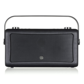 View Quest Hepburn MK 2 DAB+ radio met FM en Bluetooth,  Black INCLUSIEF ACCU, INRUIL