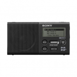 Sony XDR-P1DBP oplaadbare digitale DAB+ / FM radio