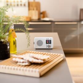 Pure Elan Connect DAB+, FM en WIFI internetradio met Bluetooth, Stone Grey