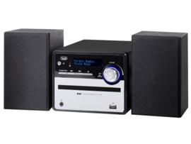 Trevi HCX 10D6 stereo microsysteem met DAB+, FM, CD speler, Bluetooth en USB