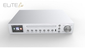 Soundmaster Elite Line ICD2200SI stereo onderbouw keuken / slaapkamer radio met WIFI, DAB+, FM, CD, USB en Bluetooth