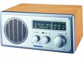 Sangean WR-1 (AM / FM radio, Walnoot)