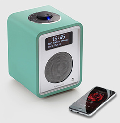 Ruark Audio R1 Limited Edition deluxe tafelradio met DAB+, FM en Bluetooth, Sea Green