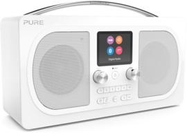 Pure Evoke H6 Prestige Edition draagbare DAB+, FM en Bluetooth stereo radio, wit