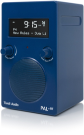 Tivoli Audio Model PAL+BT 2021 oplaadbare radio met DAB+, FM en Bluetooth, blauw