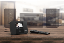 Hama DIT1000MBT stereo settopbox met internet, DAB+, Bluetooth en Spotify