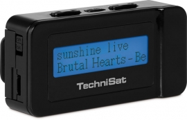 TechniSat DAB+ DigitRadio Go compacte zakradio met FM, zwart