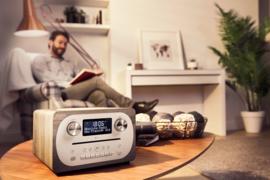 Pure Evoke C-D4 digitale DAB+ radio met CD en Bluetooth, Grey Oak