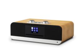 Roberts Blutune 300 stereo muziek systeem met CD, USB, Bluetooth, DAB+ en FM radio, cherry