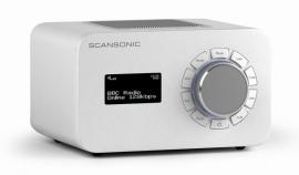 Scansonic R4 internet radio met FM