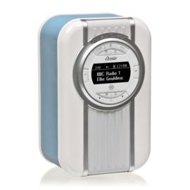 View Quest Christie draagbare DAB+ radio met FM en Bluetooth, Blauw, OPEN DOOS