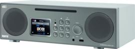 Imperial DABMAN i450 CD stereo 2.1 radio met internet, DAB+, CD, USB, Bluetooth, zilver-wit
