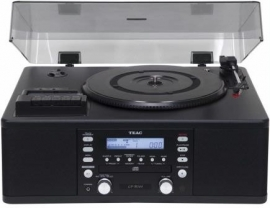 TEAC LR-R500 Muli Audiosysteem LP / CAS / CD / AM / FM / Recorder zwart
