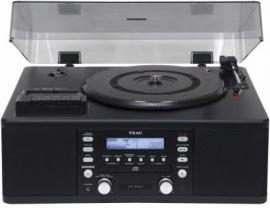 TEAC LR-R500 Muli Audiosysteem LP / CAS / CD / AM / FM / Recorder zwart