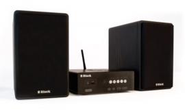 Block SV-10 Hifi tuner / versterker met DAB+, FM, internet radio, multiroom, USB en Bluetooth