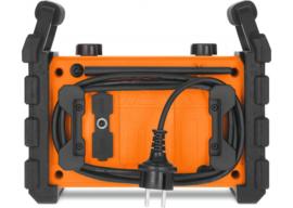 TechniSat DigitRadio 230 OD portable stereo DAB+ en FM bouwradio met ingebouwde accu, oranje